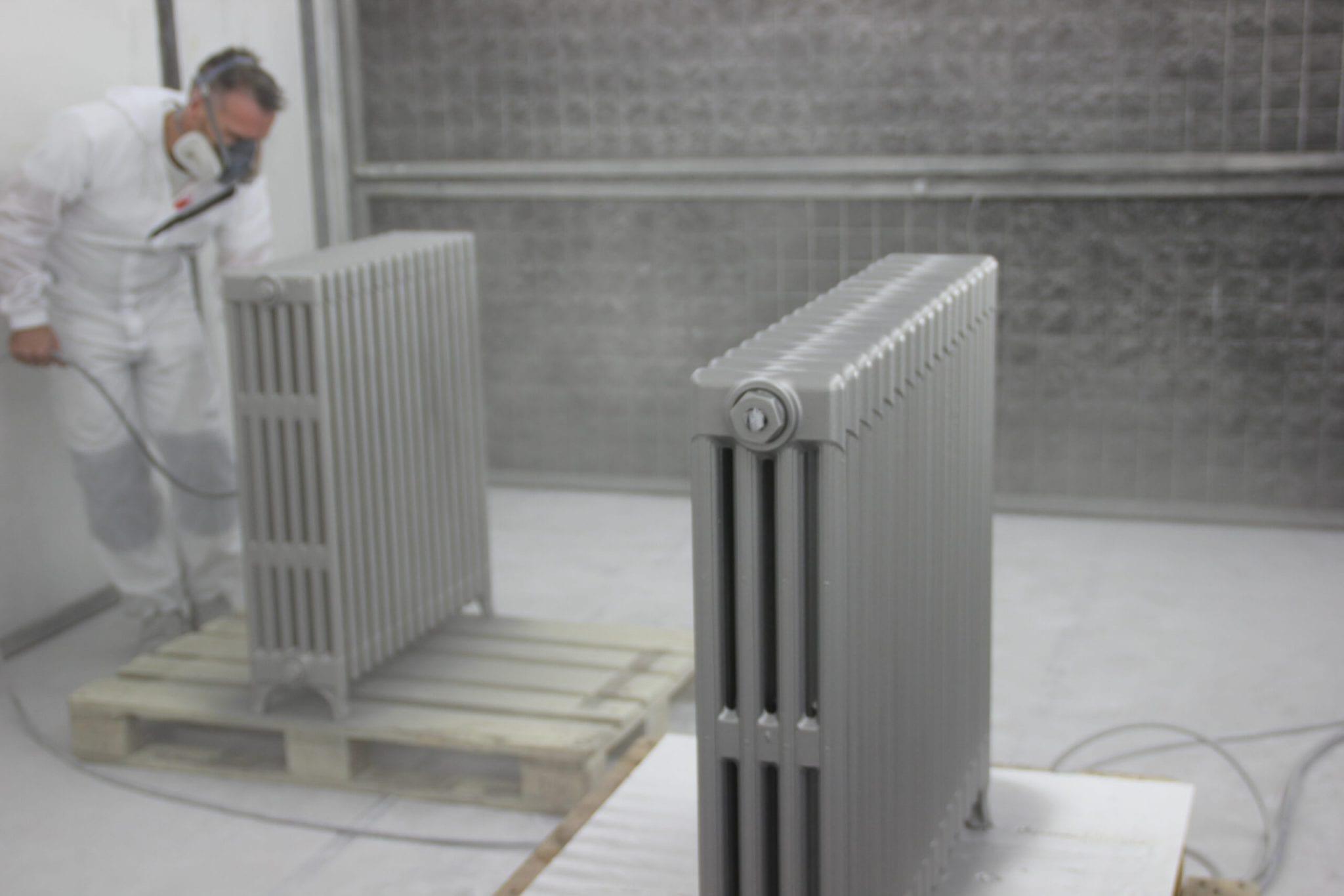 Spuitwerk radiotoren Bart Dijkhof
